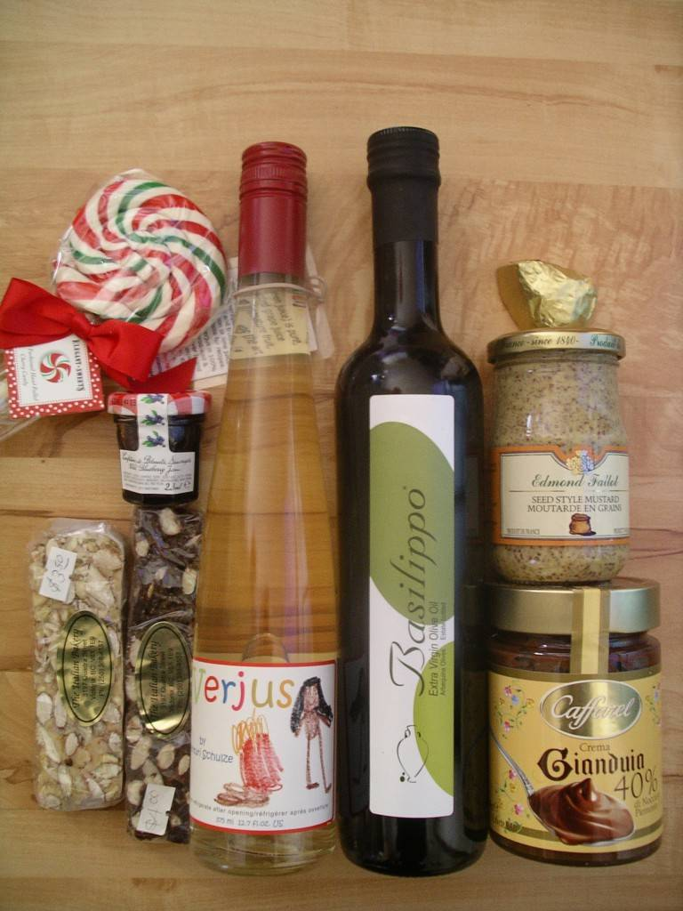 some foodie gifts