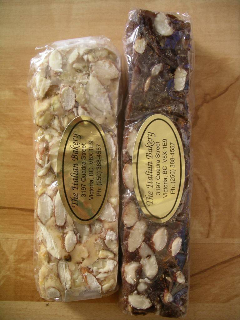 panforte and nougat