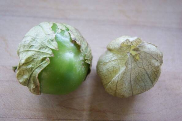 Tomatillos with Husk