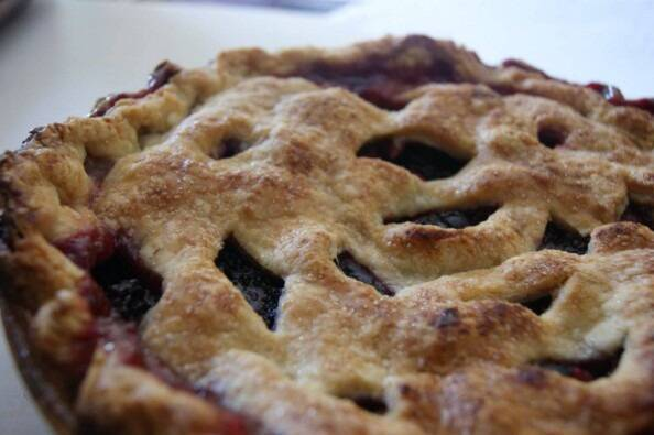 pie close-up