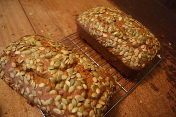 Baked Pumpkin Loaf