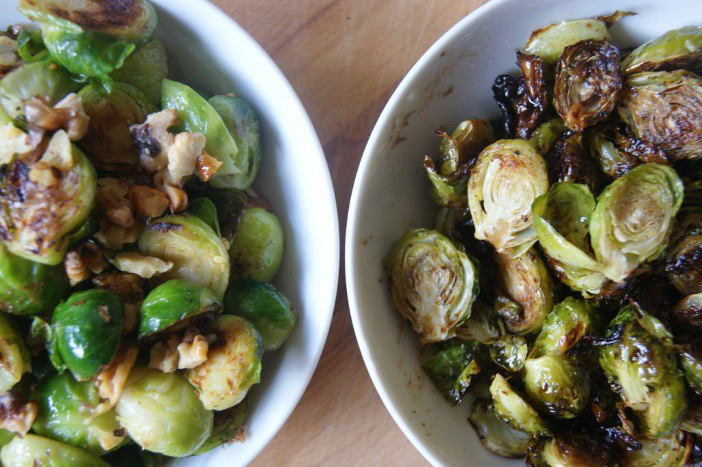 Brussels sprouts recipe duel