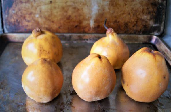 baked quince