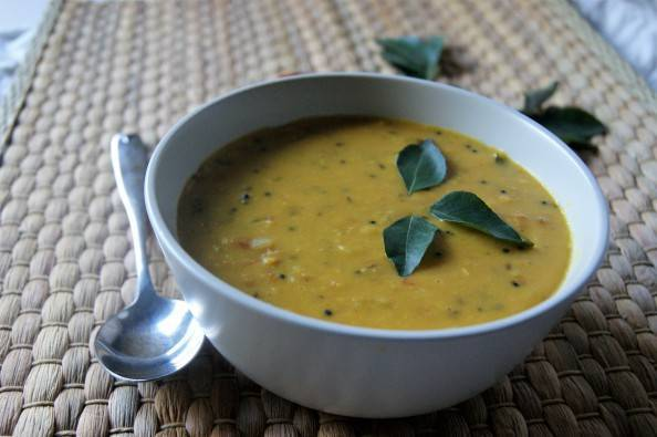 curry leaf and dhal
