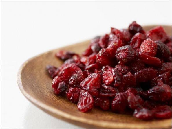 juice sweetened dried cranberries